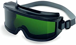 Uvex S348C Futura Safety Goggles, Clear Frame, Shade 5.0 Infra-Dura Uvextreme Anti-Fog Lens, Neoprene Headband