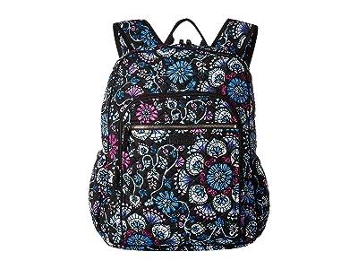 Vera Bradley Iconic Campus Backpack (Bramble) Backpack Bags