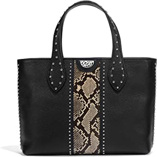 Zoey Small Convertible Tote - SNAKE-BLACK [11
