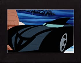 Batman Animated Series Production cel setup with a Hand-Painted Production Background Warner Brothers 28