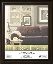 Timeless Frames 16x20 Inch Boca Picture Frame, Black