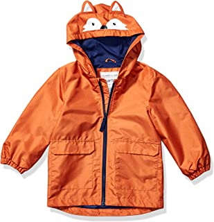 Carter's Boys' Critter Rainslicker Lightweight Rain Jacket