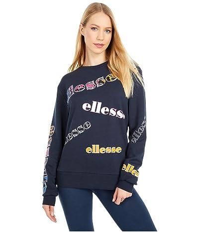 Ellesse Mircella Crew Sweatshirt (Navy) Women