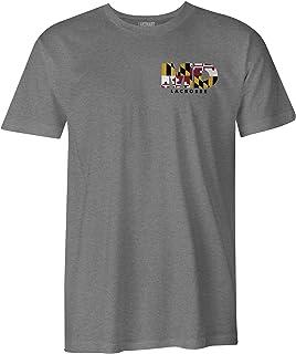 LAX SO HARD Mens Maryland Lacrosse T-Shirt