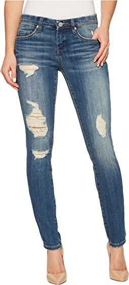 Blank NYC - Distressed Denim Skinny in Slow Clap