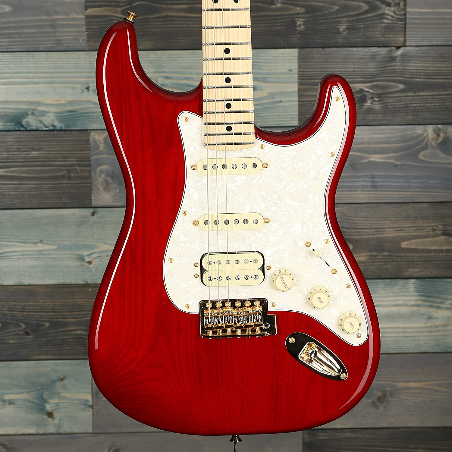 Fender Tash 2021 spring and summer new Sultana Stratocaster Electric Fingerbo Maple Guitar Excellent