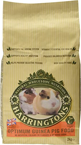 Harringtons Small Animal Optimum Guinea Pig Food, 2kg.