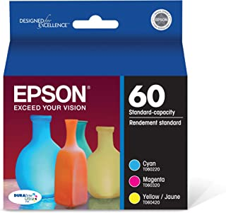 Epson T060520 DURABrite Ultra Color Combo Pack Standard Capacity Cartridge Ink