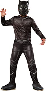 Rubie's Costume Captain America: Civil War Value Black Panther Costume, Small