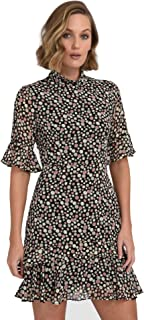 Forcast Tegan Polkadot Ruffle Dress