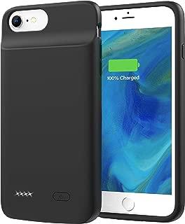 Lonlif Battery Case for iPhone 6 Plus / 6s Plus, 5000mAh Charging Case for iPhone 6Plus / 6sPlus (Black)