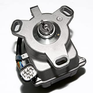 Brand New Compatible Ignition Distributor w/ Cap & Rotor 1855015 30100-P3F-A02 for 1997-1998 Honda CR-V 2.0L VIN B20B4 31-17421 8417421 D8038 TD-97U