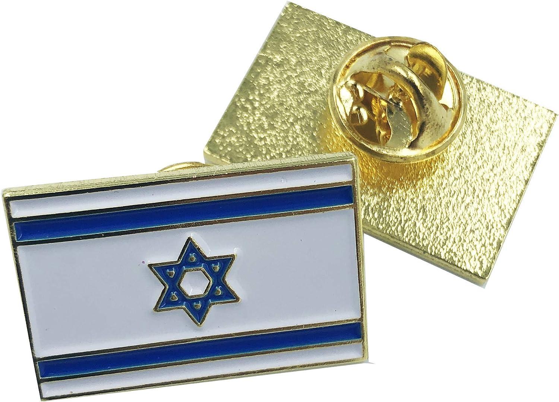 LEO Challenge Coins Israeli Flag Lapel Pin Israel
