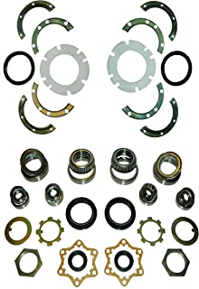 SJ410 SJ413 FRONT AXLE & KING PIN WHEEL BEARING SWIVEL HUB KNUCKLE OIL SEAL REBUILD REPAIR