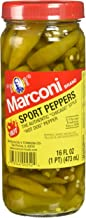 Marconi - The Authentic Chicago Style Hot Sport Peppers, 16 Fl Oz(Pack of 3)