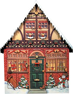 Byers' Choice Christmas House Advent Calendar #AC01