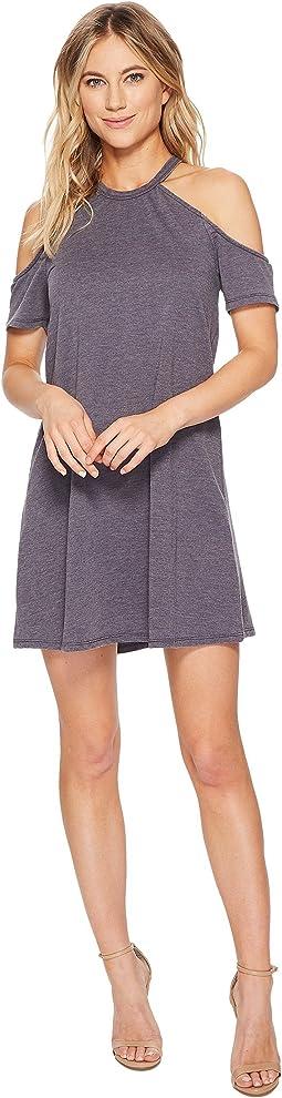 Claire Short Sleeve Cold Shoulder Dress
