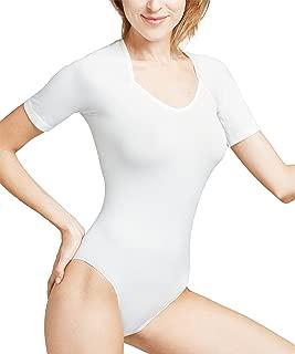 Femininier Rundhals-Ausschnitt Farben Leicht schimmernd 1 St/ück Versch Polyamidmischung FALKE Damen Body Silk Touch /ärmellos Gr/ö/ße XS-XL