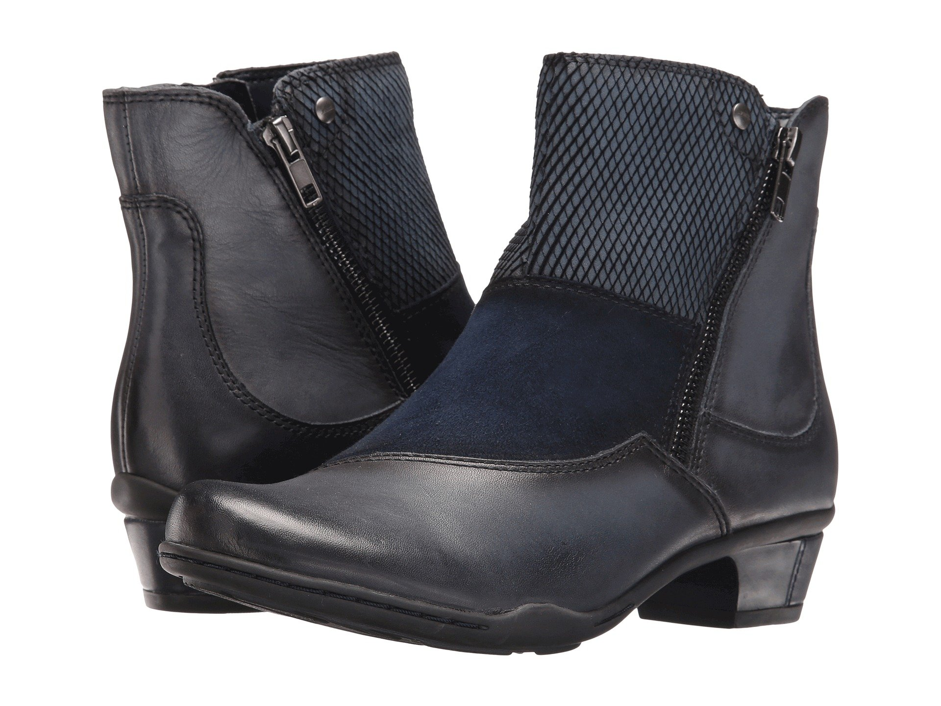 Earth Orion Womens Bootie, Navy, Size - 5.5