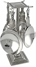 product image for Crosby & Taylor Fish Pewter Measuring Cups with Display Post