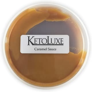 KetoLuxe Caramel Sauce, All Natural, Gluten Free, Corn Free, Sugar Free, Soy Free, Low Carb