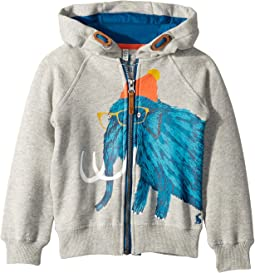 Novelty Graphic Full Zip Sweatshirt (Toddler/Little Kids)