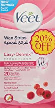Veet Coldwax Strips Normal 20 Counts - Pack Of 2