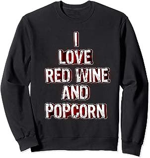 Funny Wine And Salted Snacks Tee May Contain Wine Sweatshirt