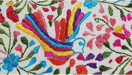 Mexican Dress -XL-, Vestido Oaxaqueño bordado a mano y tela de algodón de