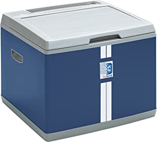 Mobicool B40 AC/DC - Nevera termoeléctrica portátil, conexiones 12 / 230 V,  38 litros de capacidad, clasificación energética A+, color azul