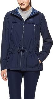 Jack Wolfskin Women's Fairview Jacket Raincoats, Midnight Blue, M