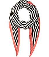 rag & bone - Narrow Silk Scarf