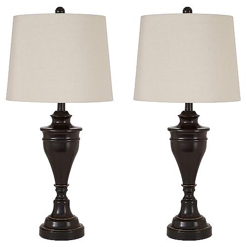 Merveilleux Ashley Furniture Signature Design   Darlita Table Lamps Set Of 2    Contemporary   Bronze Finish