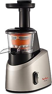 Moulinex ZU255B10 Extracteur de Jus Infiny Juice Pressoir Fruits et Légumes 82 tours/minute Centrifugeuse Pression à Froid...