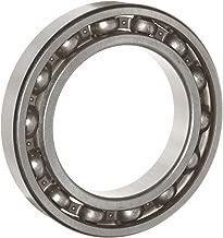 WJB 6010 Deep Groove Ball Bearing, Open, Metric, 50mm ID, 80mm OD, 16mm Width, 4900lbf Dynamic Load Capacity, 3750lbf Static Load Capacity