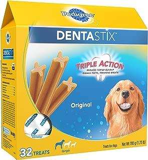 PEDIGREE Dentastix Dental Treats for Dogs, Chicken & Grain Free - Large (30 lb +)