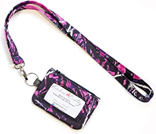 Muddy Girl Camo Fabric ID Wallet with Lanyard Set