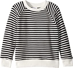 Two-Tone Striped Damien Pullover Sweater (Toddler/Little Kids/Big Kids)