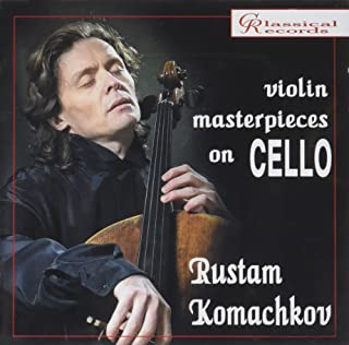 Sarasate Gypsy Airs Op.20 & Other 'Violin Masterpieces Performed On The Cello' Composed By Ba