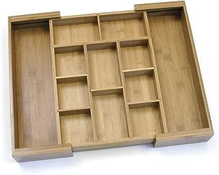Lipper International 8882 Bamboo Wood Expandable to 18-3/4