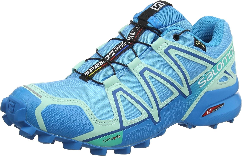 Salomon kvinnor Speedcross 4 Gtx W Trail Running skor, blå