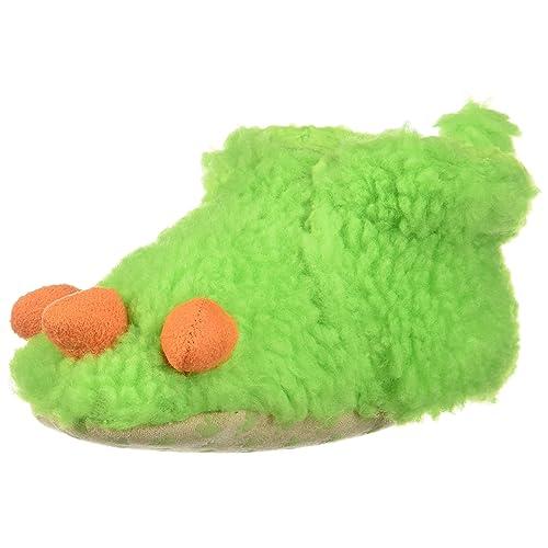 2fa942654dd1 Childrens Toddler 2-5 Slide Slippers Green Monster Dinosaur Claw