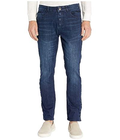 Seven7 able Adaptive Slim Straight Jeans w/ Magnetic and Micro Velcro(r) Closure in Vouvant Dark (Vouvant Dark) Men