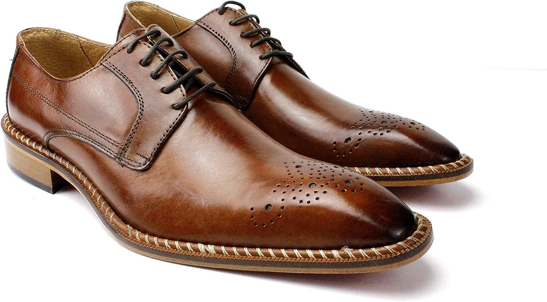 Ivan Troy Gabriel Men's Dress Shoes/Italian Men's Shoes/Men's Leather Dress Shoes/Italian Oxford Shoes/