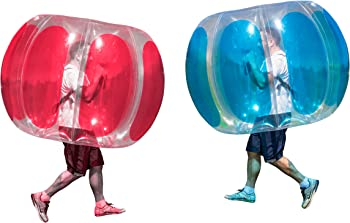 2-Pack Sportspower Thunder Bubble Inflatable Soccer Toy