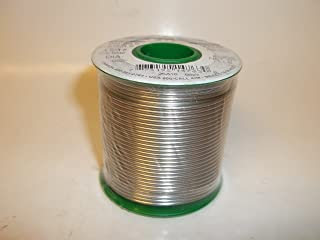 AIM Silver Wire Solder 96.5sn/3.5ag, Rosin Flux Core 2%, Lead Free 1lb Spool.062