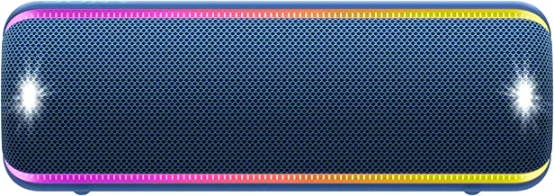 Sony SRS-XB32 Portable Bluetooth Speaker: Compact Wireless Party Speaker with Multicolor Lights and Flashing Strobe - Loud...