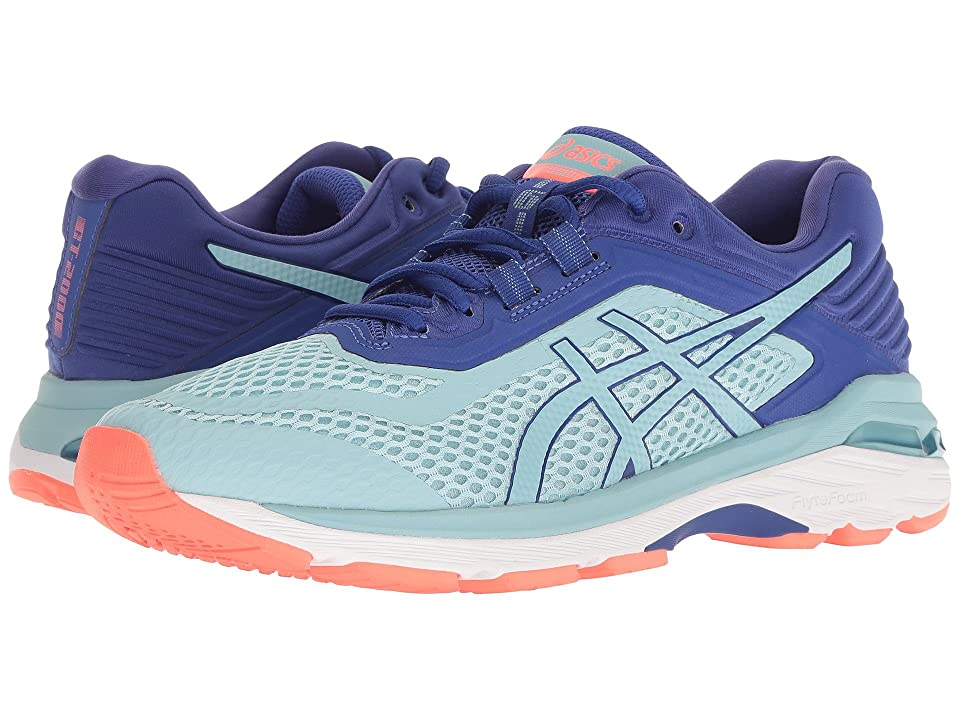 ASICS GT-2000 6 (Porcelain Blue/Porcelain Blue/Asics Blue) Women's Running Shoes