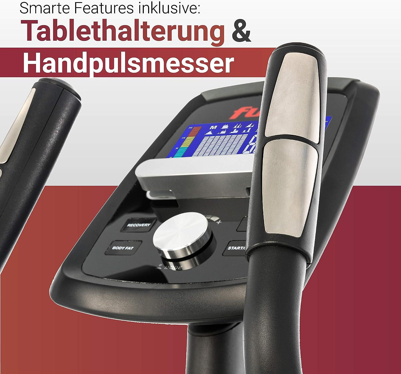 Fuel Fitness CT500 Trainingscomputer + Handpuls-Sensoren