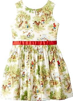 Little Red Party Dress (Toddler/Little Kids)